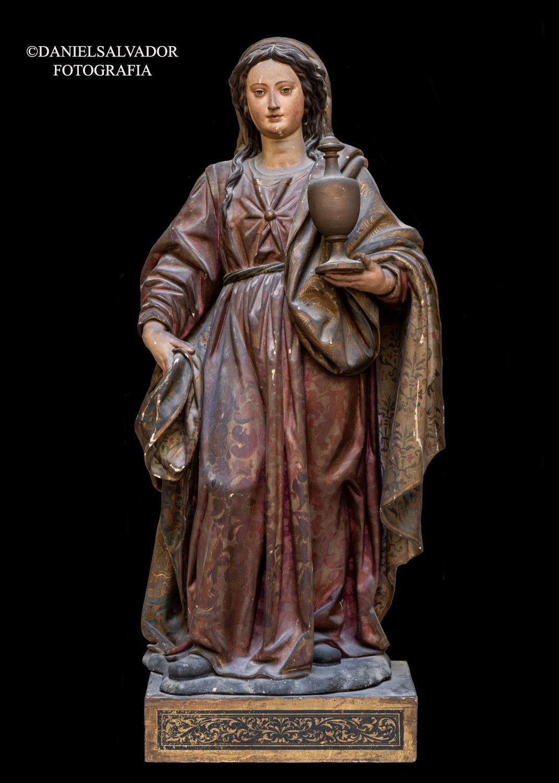 Santa María Magdalena. Juan Martínez Montañés. Convento de Santa Clara. Sevilla.