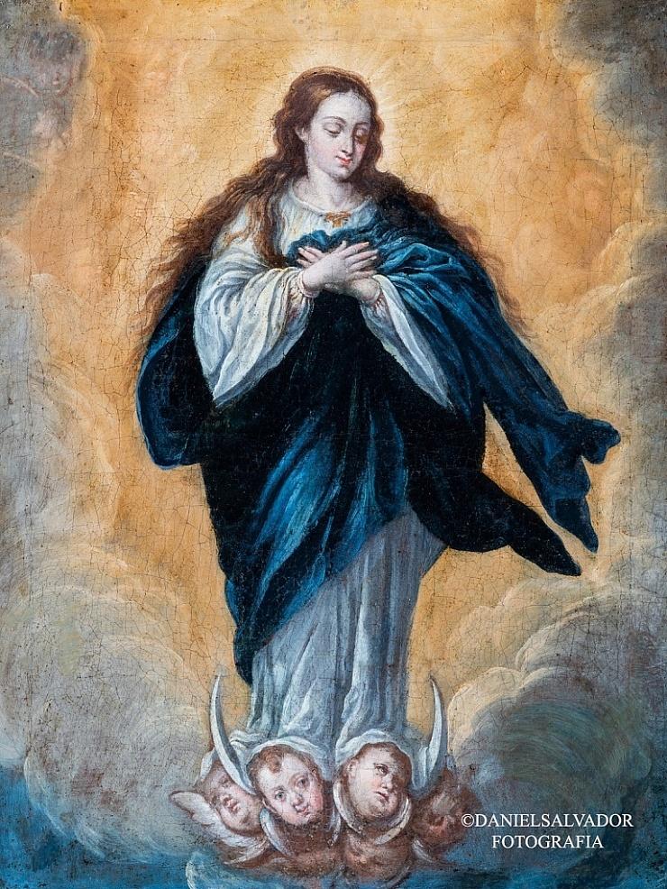 Inmaculada. Lucas Valdés. Colección Manuel Morales y Fernández de Xódar