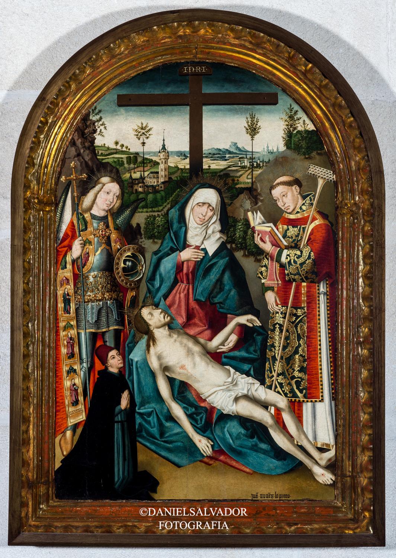 """""""Piedad entre San Miguel y San Vicente"""", de Juan Nuñez"""