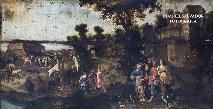 El diluvio universal. Juan de Zamora. Palacio Arzobispal de Sevilla.
