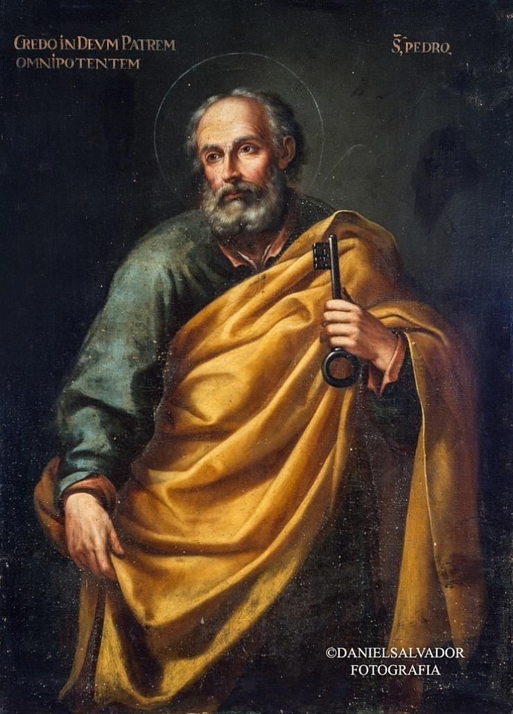San Pedro. Sebastián de Llanos Valdés. Palacio Arzobispal de Sevilla