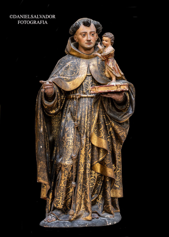 San Antonio. Juan Martínez Montañés. Convento de Santa Clara. Sevilla.