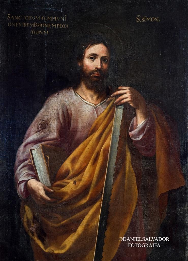San Simón. Sebastián de Llanos Valdés. Palacio Arzobispal de Sevilla.