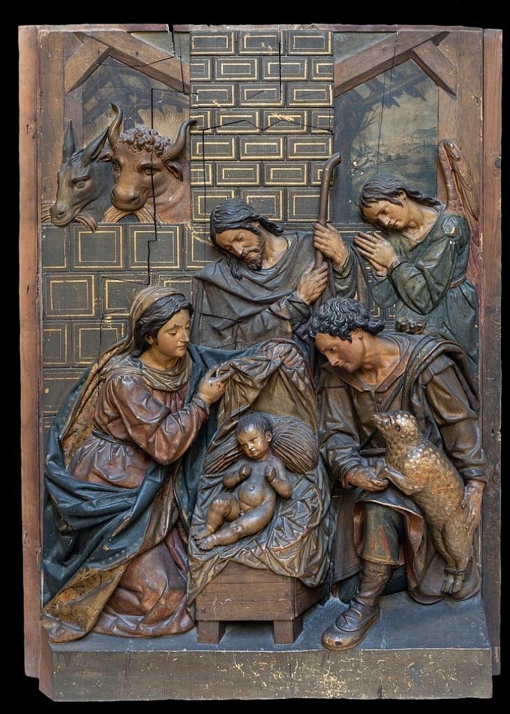 La adoración de los pastores. Juan Martínez Montañés. Convento de Santa Clara. Sevilla