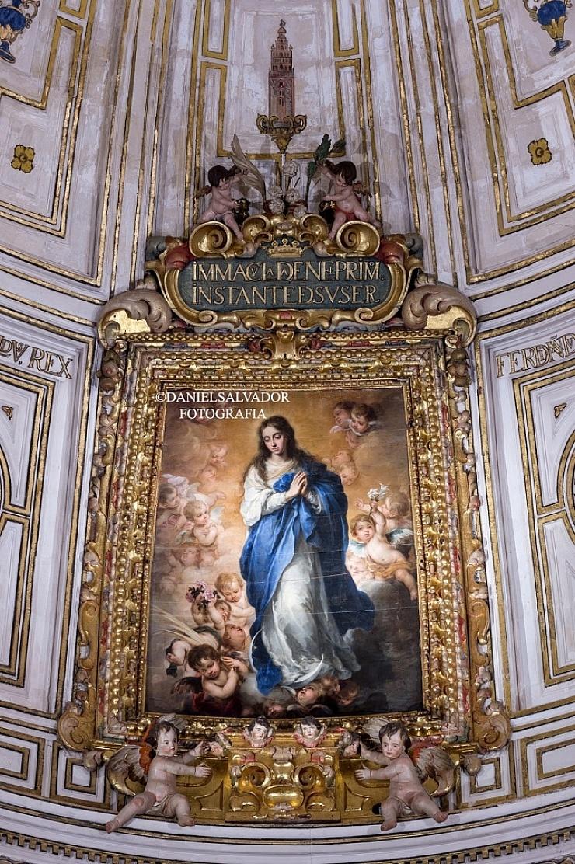Inmaculada de la Sala Capitular de la Catedral de Sevilla