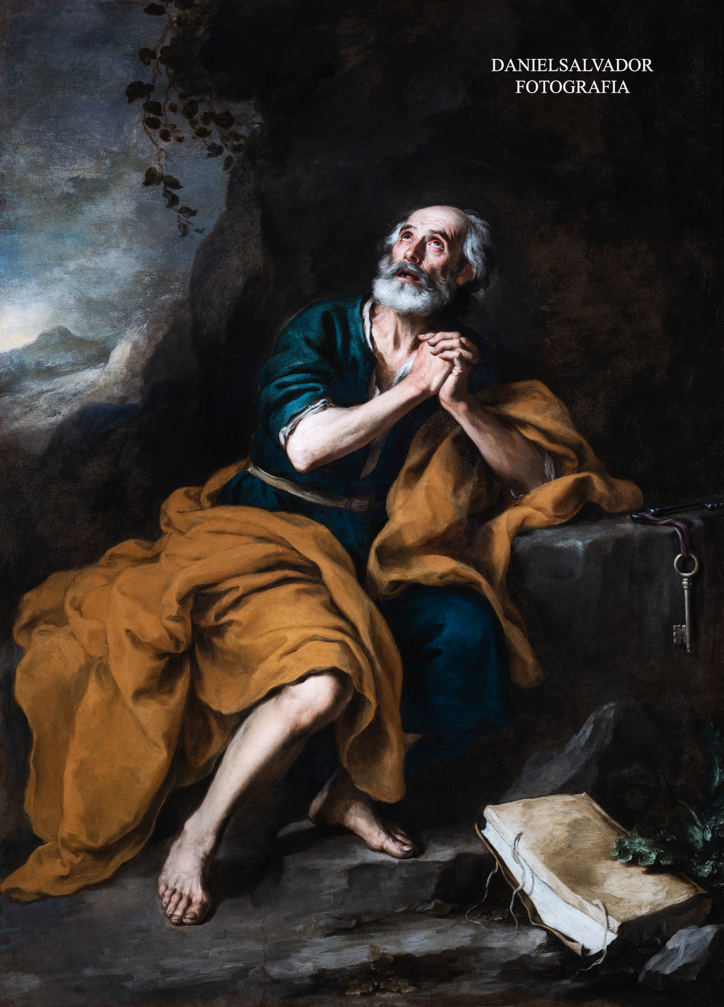 San Pedro Penitente de los Venerables. Bartolomé Esteban Murillo. Fundación Focus
