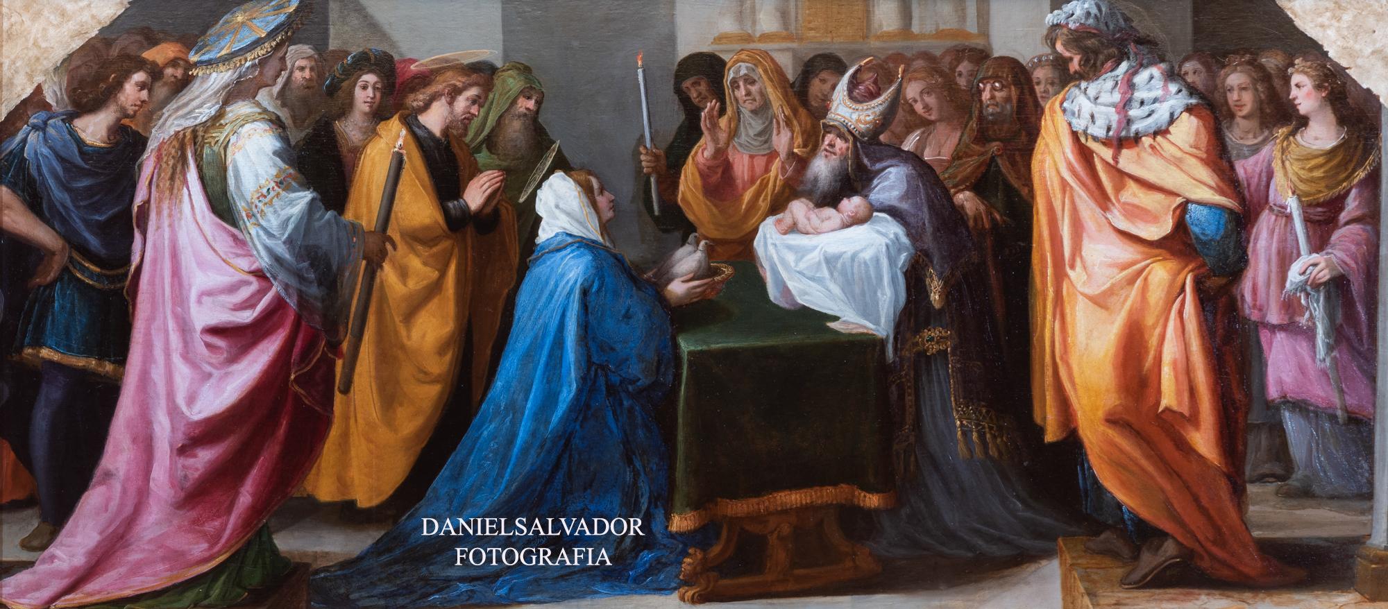 La presentación en el templo. Vicente Carducho. Palacio de Riofrío