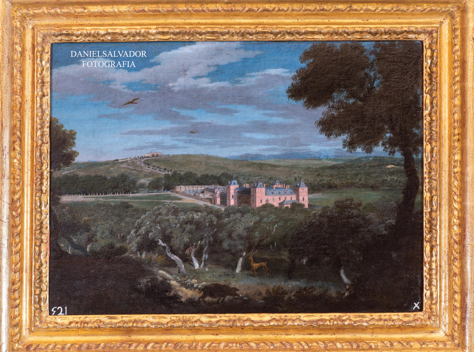 Vista del Pardo. Michael Houasse. Palacio de Riofrío