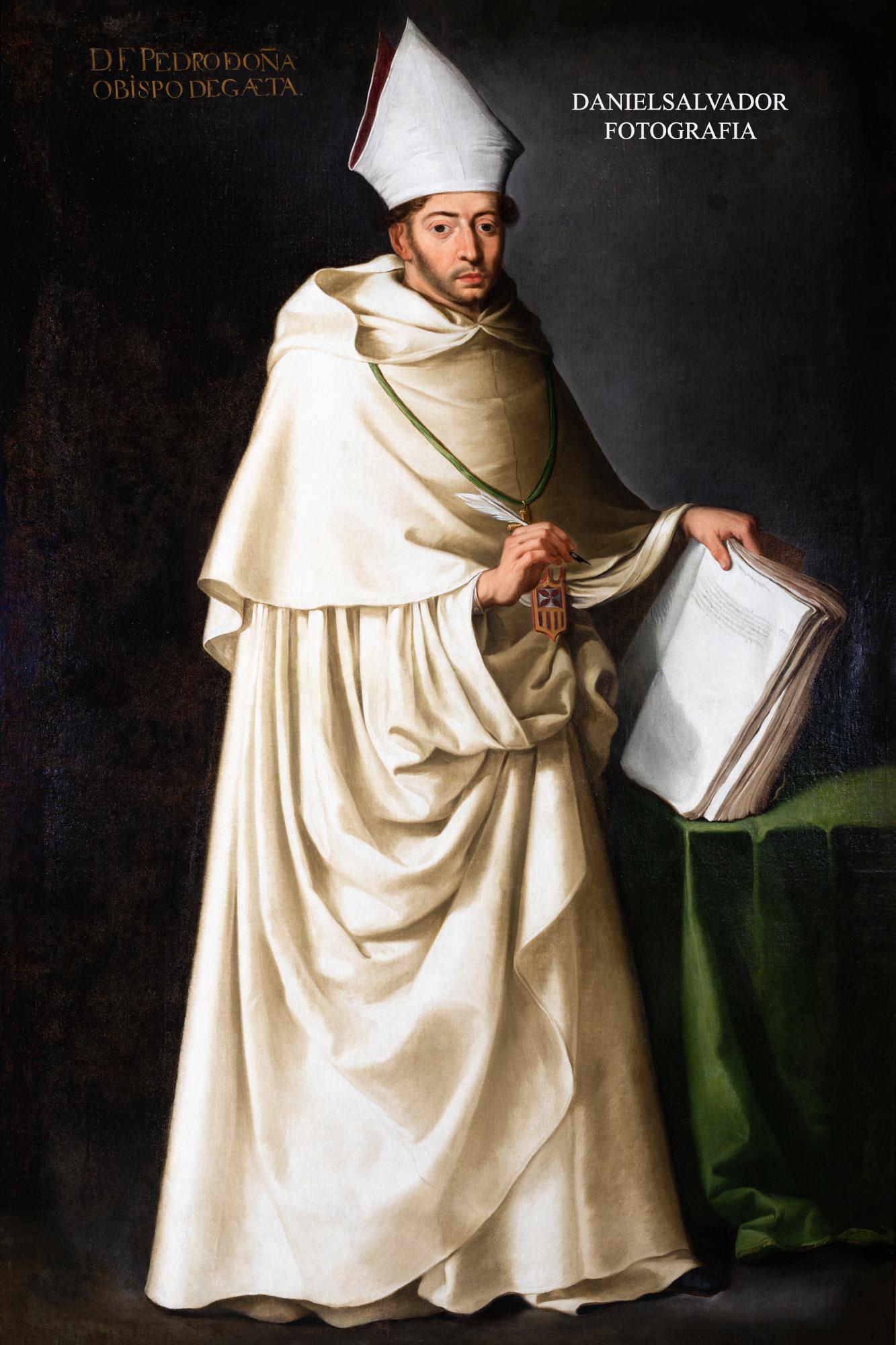 Fray Pedro de Oña. Francisco de Zurbarán. Fundación Focus