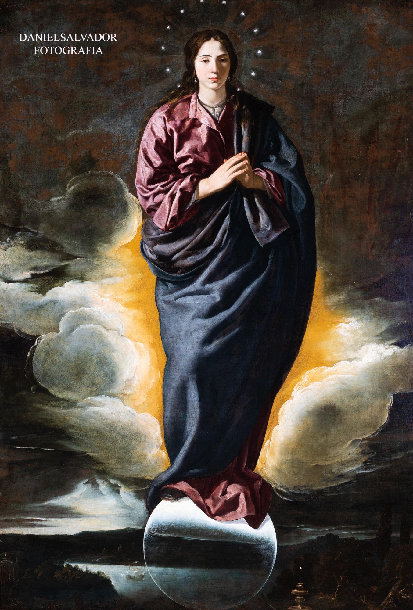 Inmaculada Concepción.Diego Velázquez. Fundación Focus