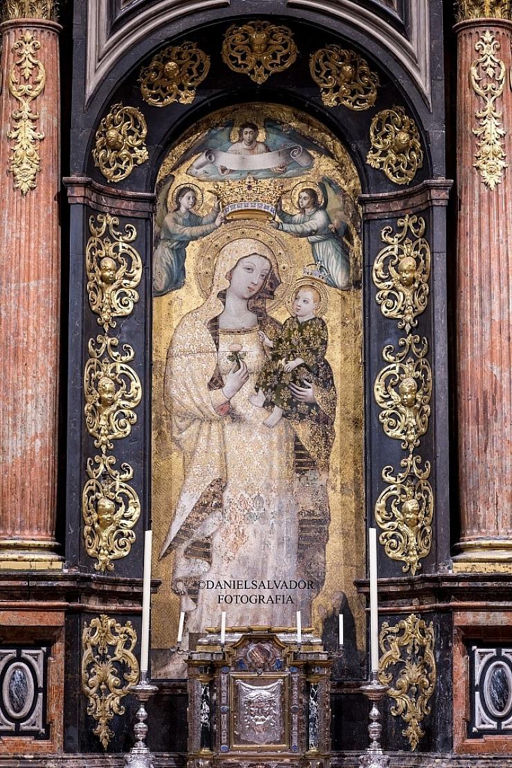 Virgen de la Antigua. Catedral de Sevilla