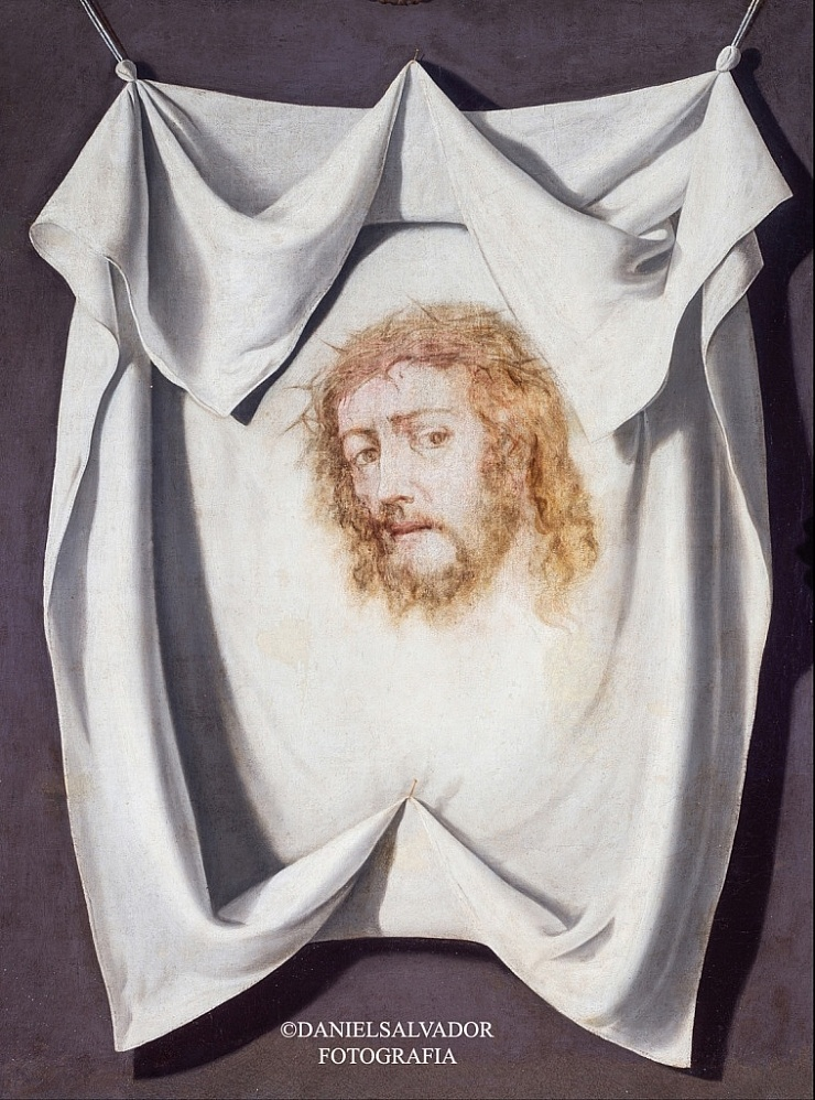 Santa Faz. Francisco de Zurbarán. Hermandad Sacramental de San Pedro. Sevilla