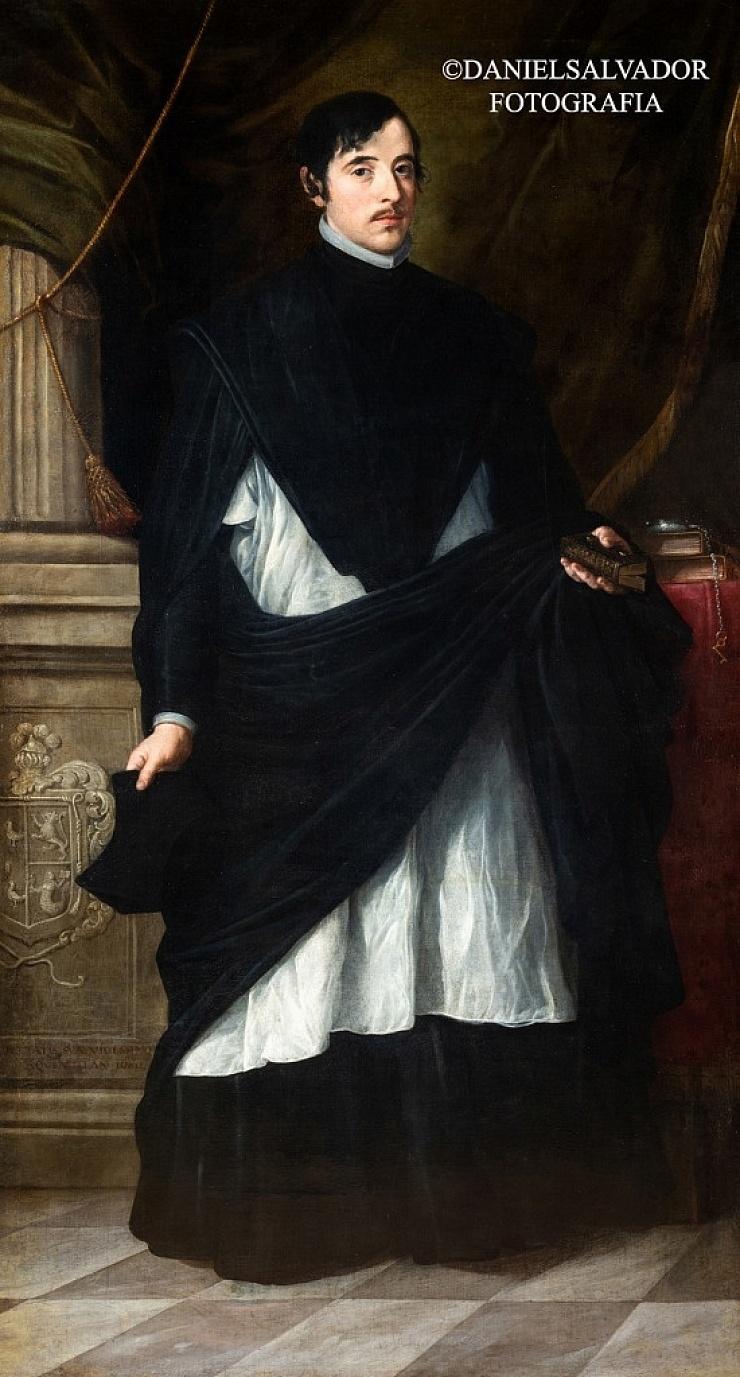 Retrato de don Juan Antonio de Miranda y Ramirez de Vergara. Bartolomé Esteban Murillo. Fundación Casa De Alba