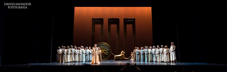 Ópera. La flauta mágica ©Daniel Salvador Fotografía