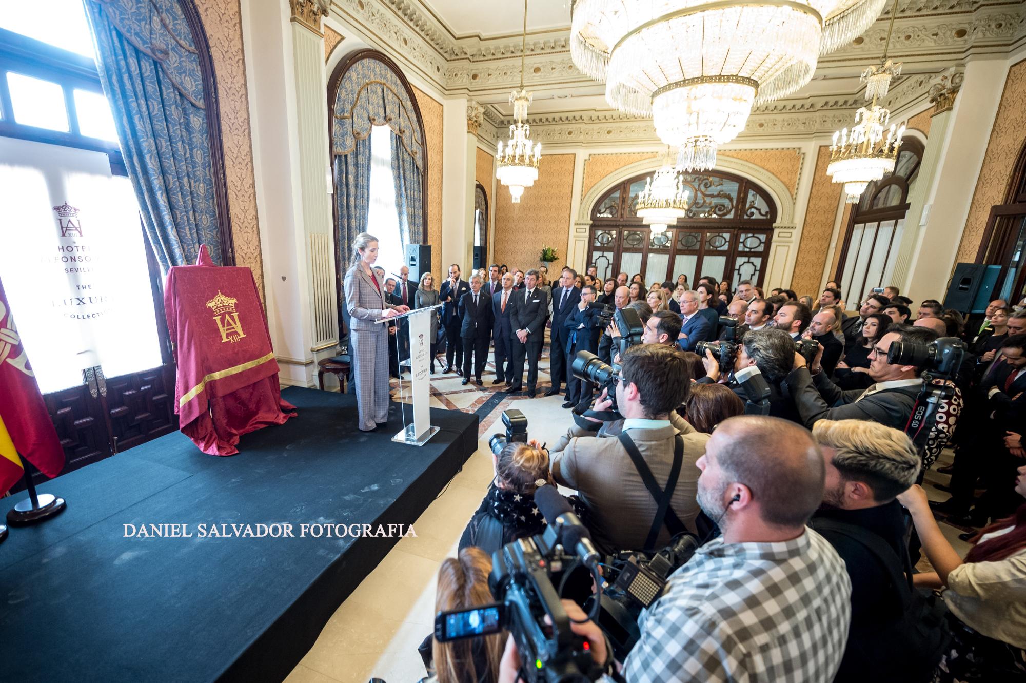 90 aniversario Hotel Alfonso XIII. 13 marzo 2108 ©Daniel Salvador Fotografía