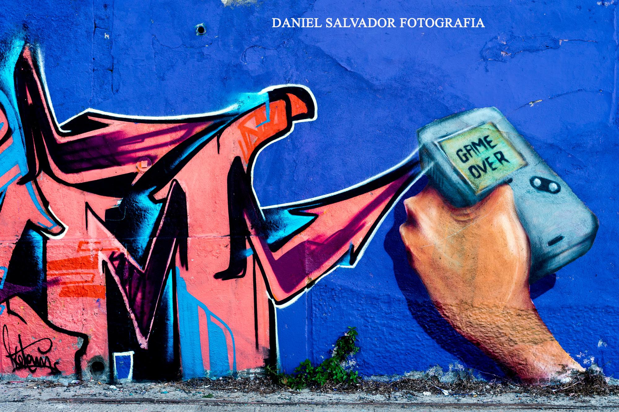 Grafitis. Lisboa (Portugal) ©Daniel Salvador Fotografía