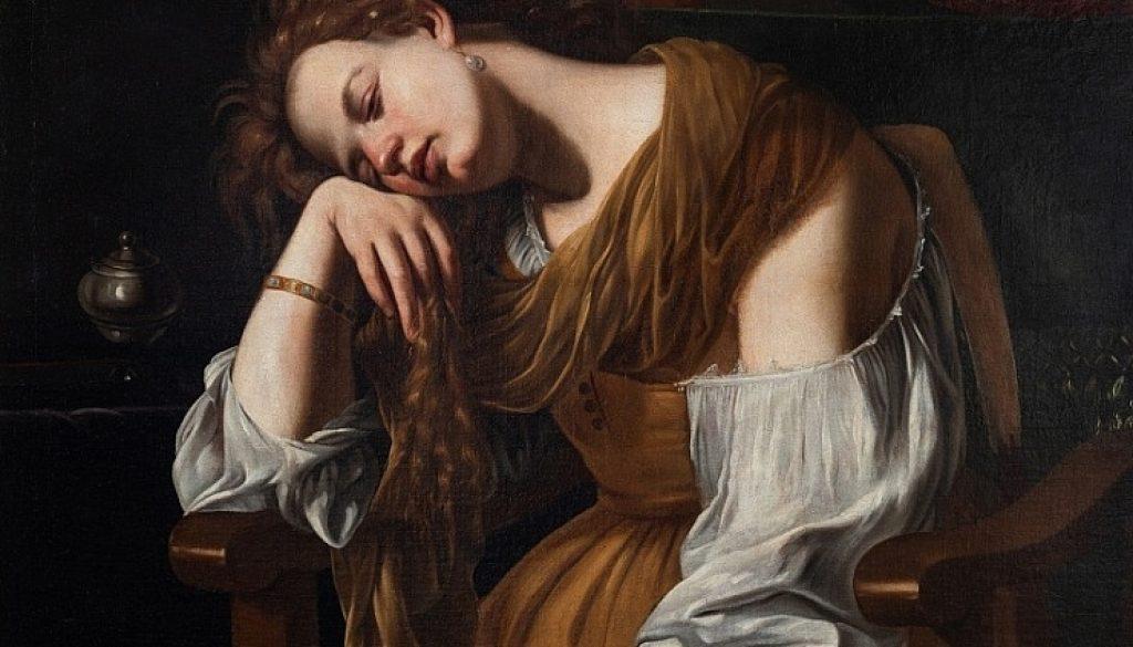 María Magdalena. Artemisia Gentileschi. Catedral de Sevilla