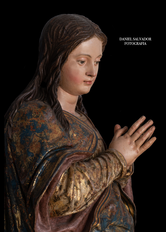 Inmaculada de juan martinez montañés. El Pedroso. Sevilla.