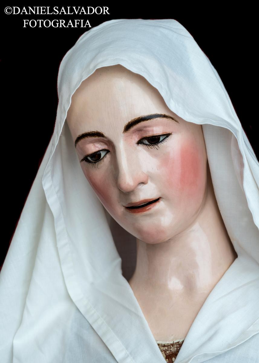 Virgen de la Encarnación. Atribuida a Juan Martínez Montañés. Hermandad de la Quinta Angustia. Sevilla