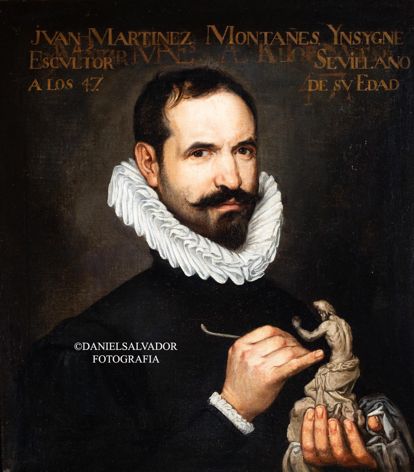 Retrato de Juan Martínez Montañés. Francisco Varela
