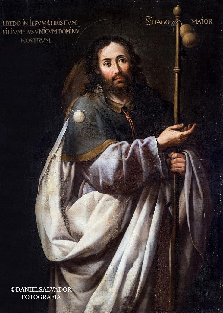 Santiago el Mayor. Sebastian de Llanos Valdés. Palacio Arzobispal de Sevilla