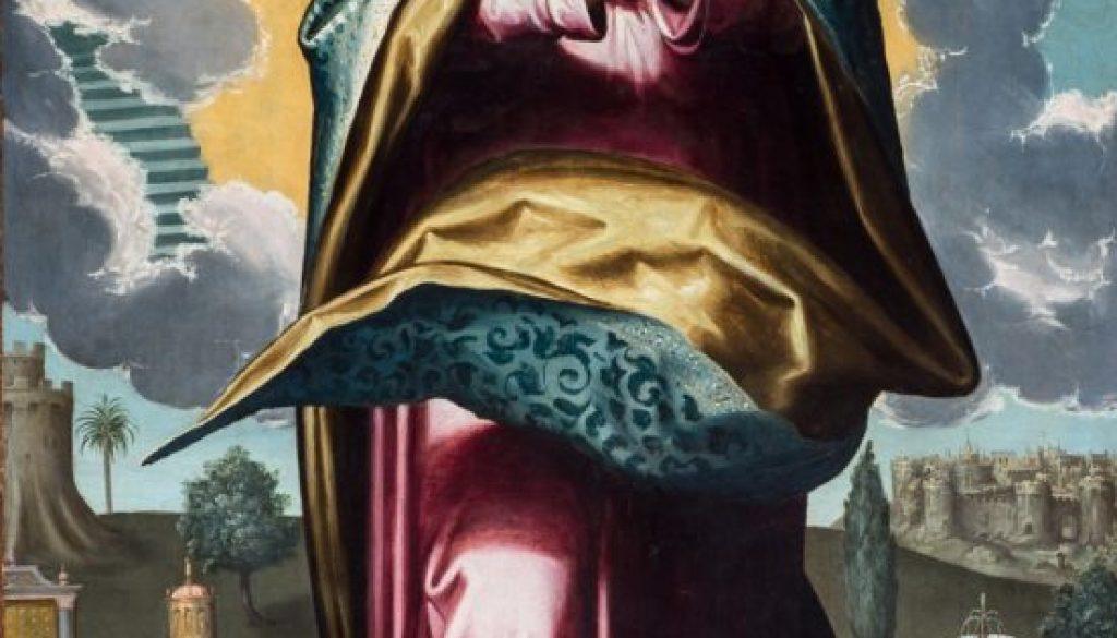 Inmaculada Concepción. Cristobal Gómez. Palacio arzobispal de Sevilla