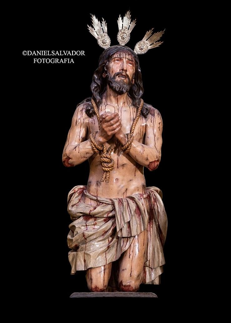 Santo Cristo de la Caridad. Pedro Roldán. Hermandad Santa Caridad. Sevilla