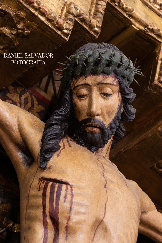 Cristo del Buen Fin. Pedro Millán (año 1.500). El Pedroso. Sevilla