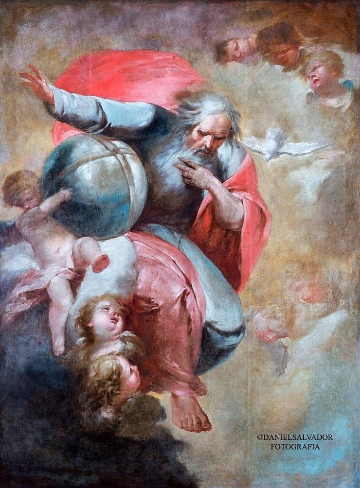 El Padre eterno. Juan de Espinal. Palacio Arzobispal de Sevilla
