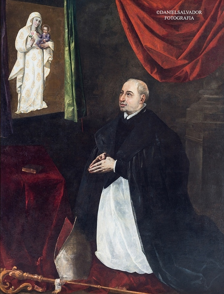Maese Rodrigo Fernández de Santaella y Córdoba. Francisco de Zurbarán. Palacio Arzobispal de Sevilla