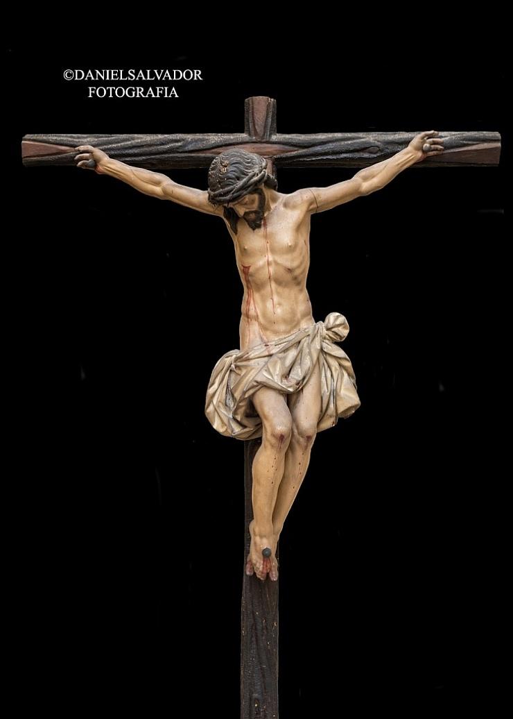 Crucificado. Juan Martínez Montañés. Convento de Santa Clara. Sevilla