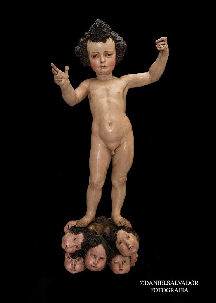 Niño Jesús. Juan Martínez Montañes. Colección particular de D. Manuel Morales y Fernández de Xódar