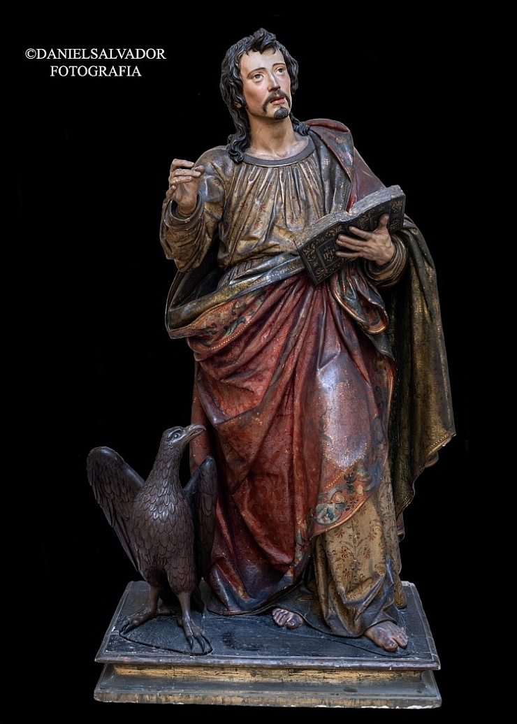 San Juan Evangelista. Juan Martínez Montañés. Convento de Santa Clara. Sevilla