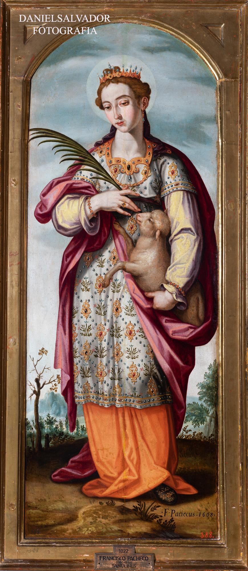 Santa Inés. Francisco Pacheco. Fundación Focus