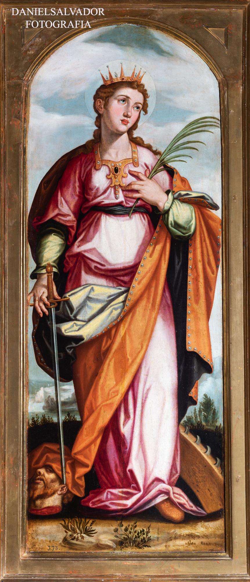 Santa Catalina. Francisco Pacheco. Fundación Focus