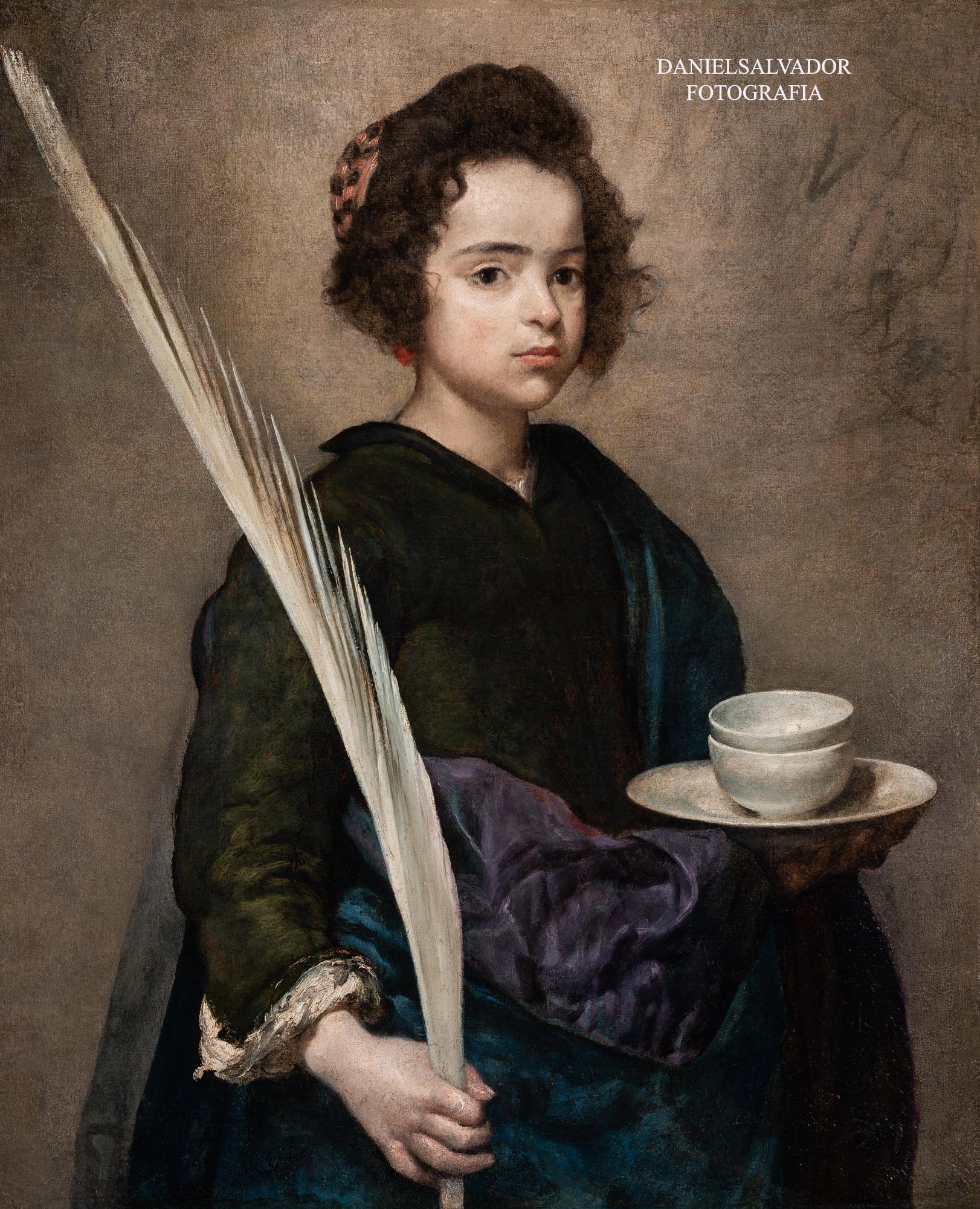 Santa Rufina. Diego Velázquez. Fundación Focus