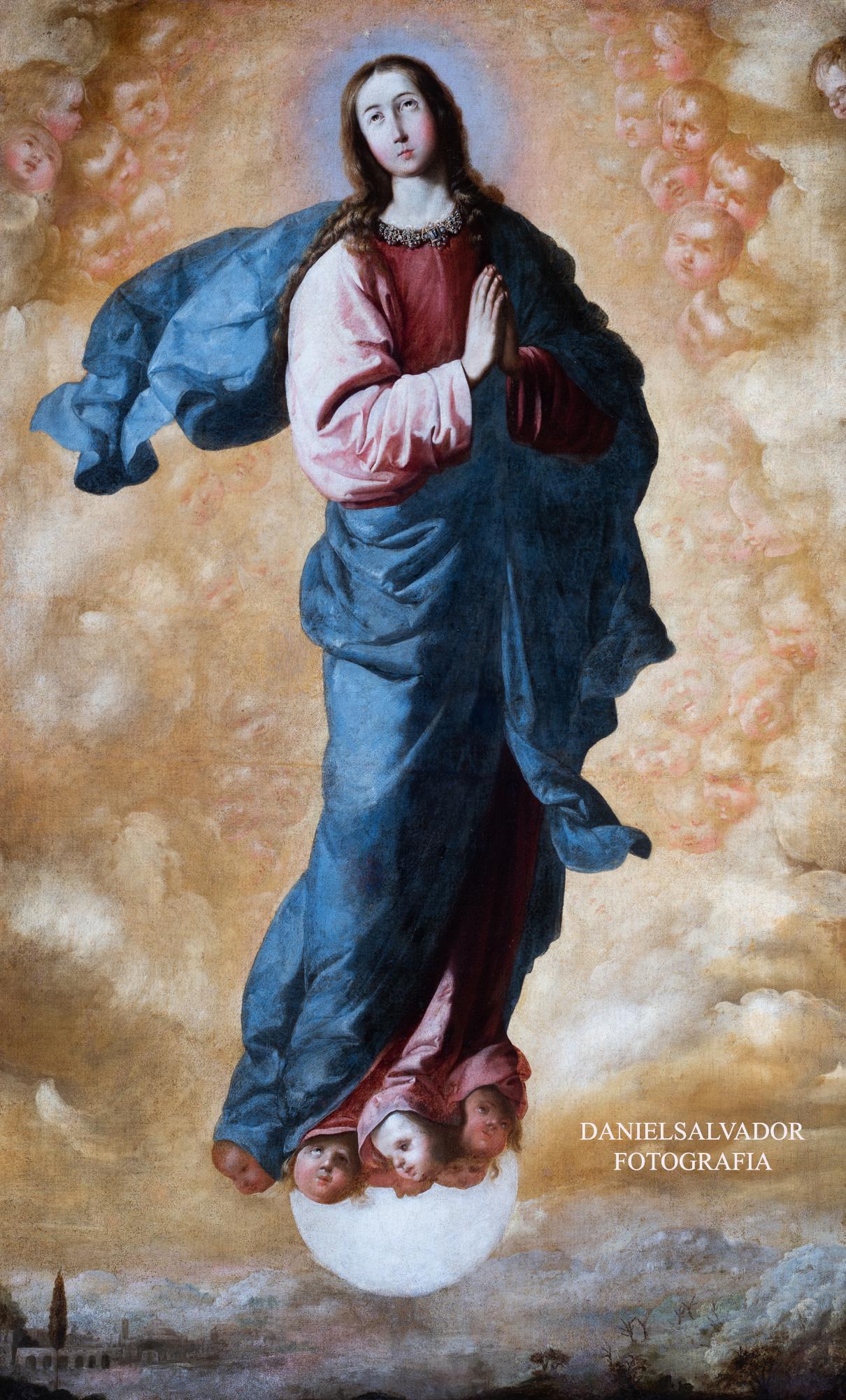 Inmaculada. Francisco de Zurbarán. Fundación Focus