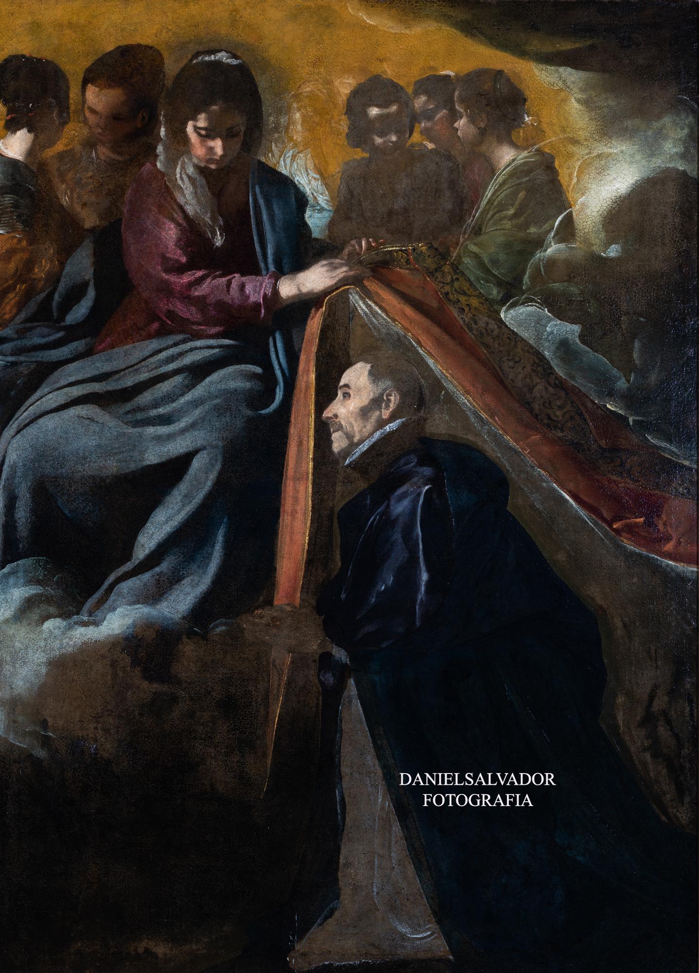 Imposición de la casulla a San Ildefonso. Diego Velázquez. Fundación Focus