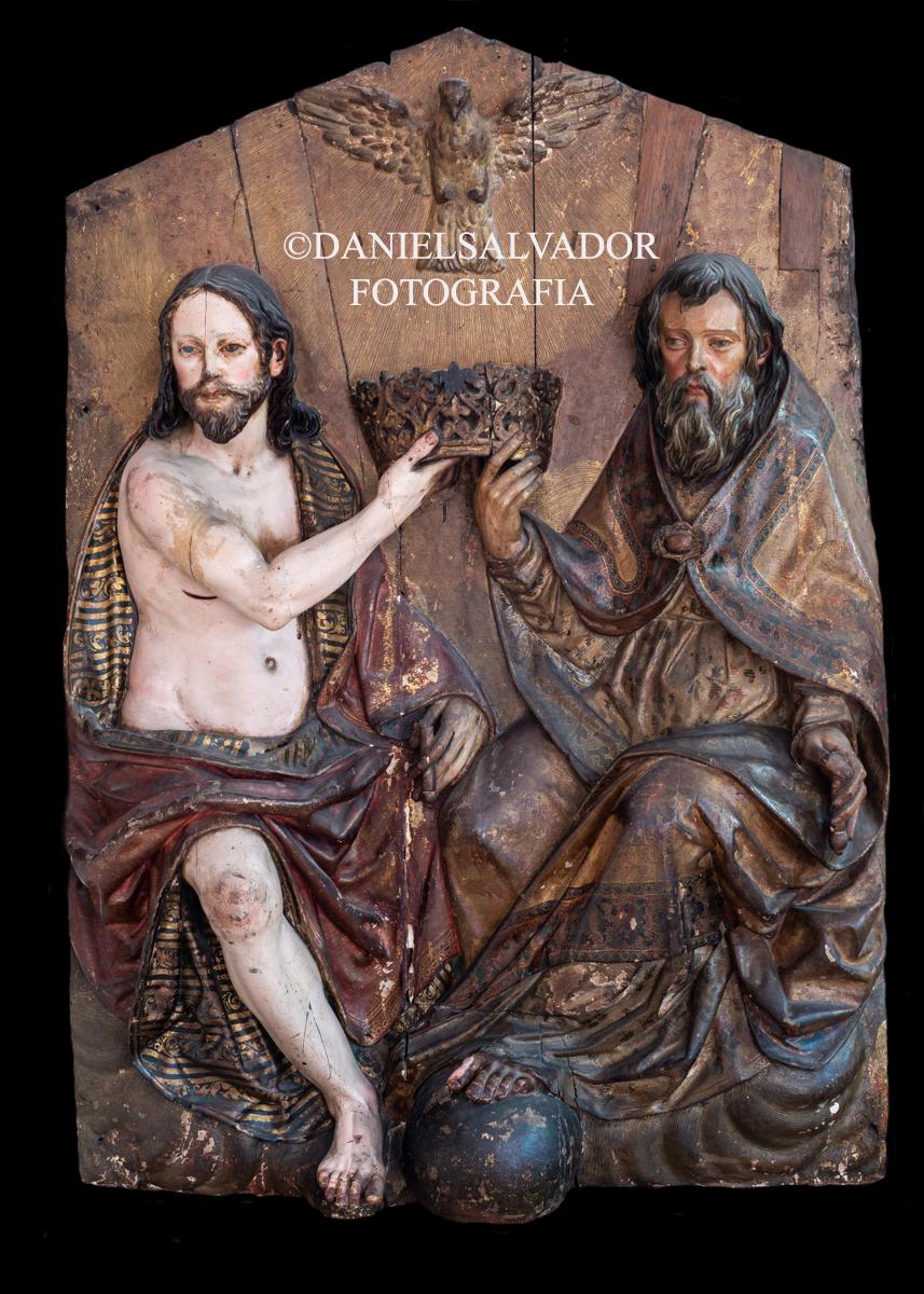 Santísima Trinidad. Pedro Díaz de la Cueva. Capilla de San Onofre. Sevilla