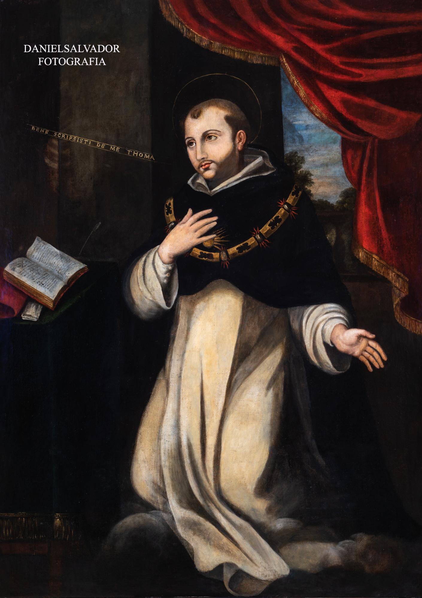 Santo Tomás. Anónimo. Parroquia de Santa María Magdalena. Sevilla