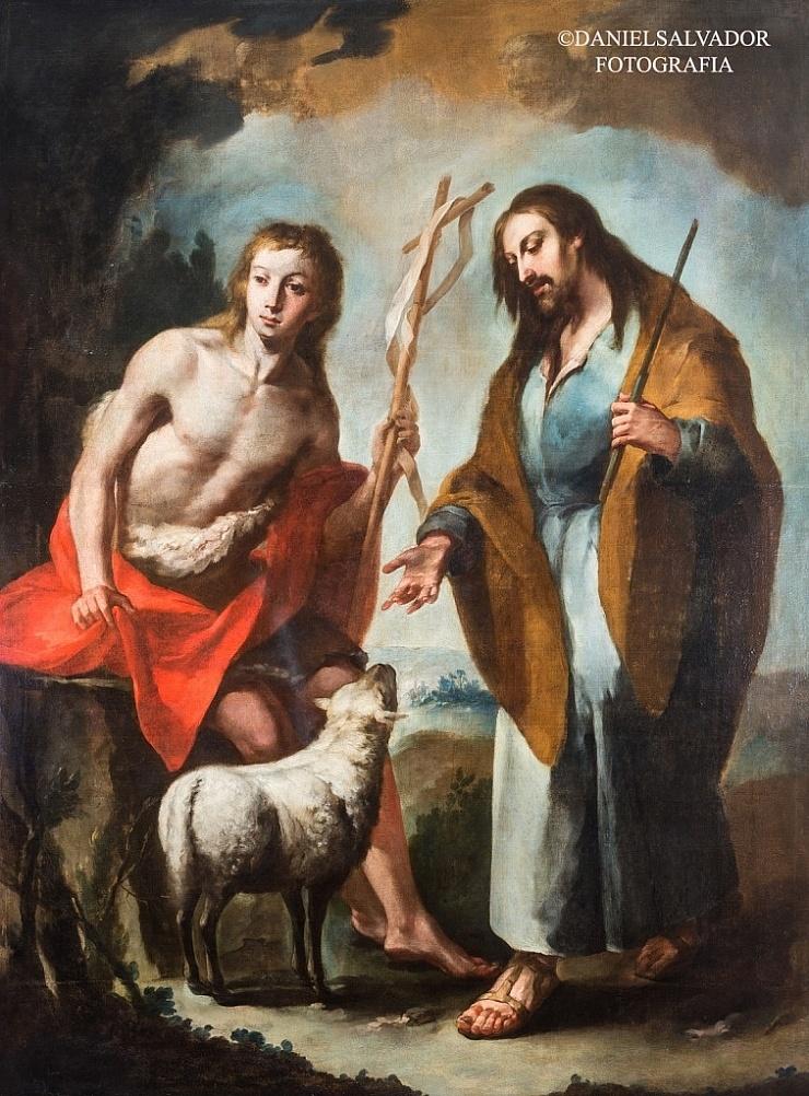 San Juan Bautista y San José. Juan de Espinal. Palacio Arzobispal de Sevilla.