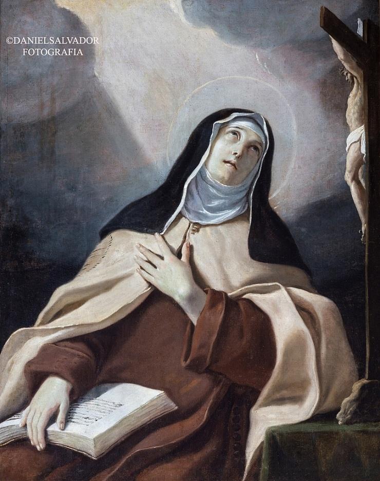 Santa Teresa de Jesús. Matia Pretti. Palacio Arzobispal de Sevilla