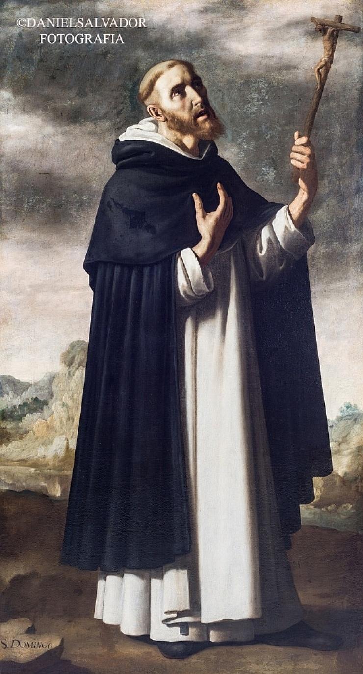Santo Domingo de Guzmán. Francisco de Zurbarán. Palacio Arzobispal de Sevilla